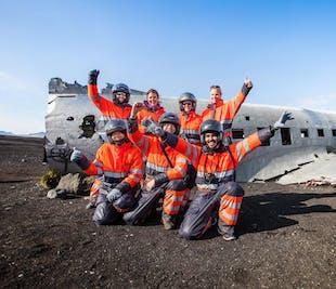 Avion abandonné au Sólheimasandur | Tour en quad vers l'épave du DC-3