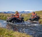 Podczas tej wycieczki quadem może być konieczne przekroczenie kilku rzek.