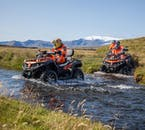 You might need to cross a few rivers on this ATV tour.