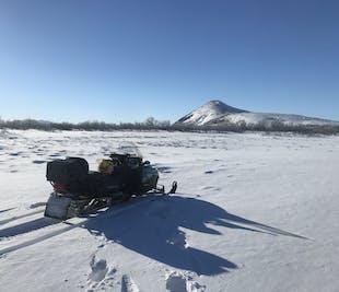 Lake Myvatn 1 Hour Snowmobile Safari