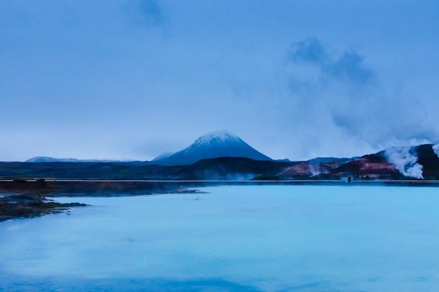 冰島北部米湖溫泉