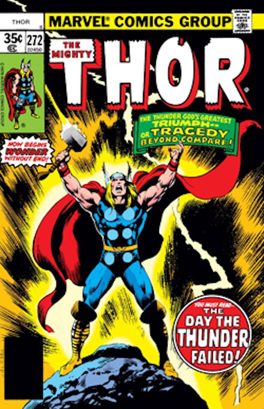 第一個出現在Marvel漫畫中的北歐神索爾