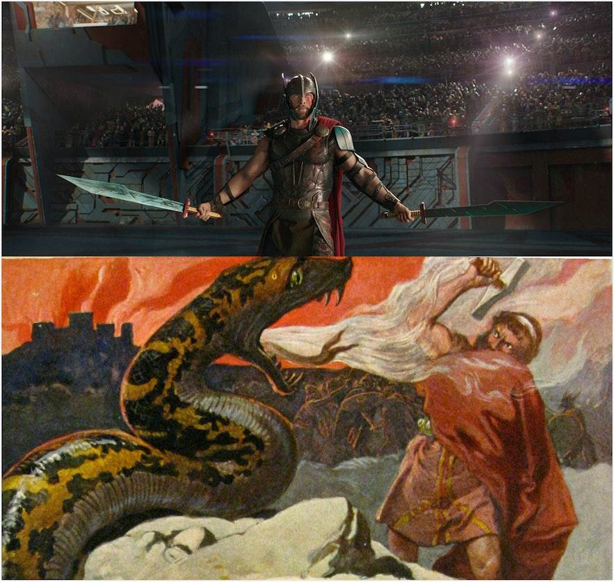 雷神奇俠在北歐神話的神