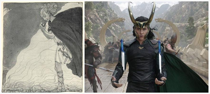 Loki的北歐神話原型