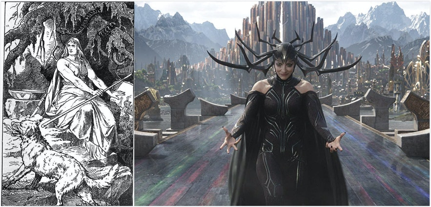 Marvel電影中Hela的神話原型