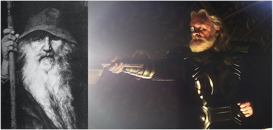 漫威中奧丁的北歐神話原型