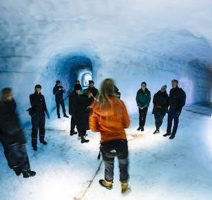 Tunnel de glace au Langjökull | Avec visite des pistes des Hautes-Terres depuis Thingvellir