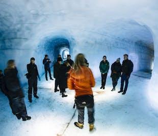Túnel de hielo en Langjökull con vistas a las Tierras Altas   Tour con salida desde Thingvellir