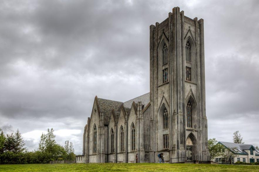 冰岛最大的天主教教堂Landakotskirkja就位于雷克雅未克市中心