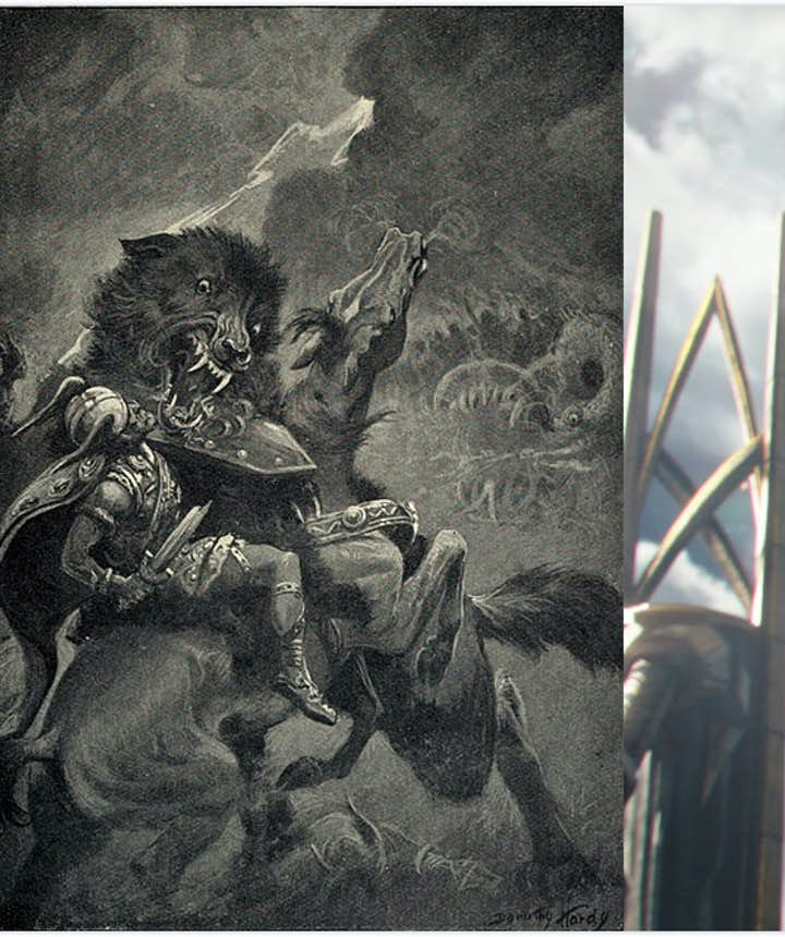 巨狼Fenir的冰島神話原型