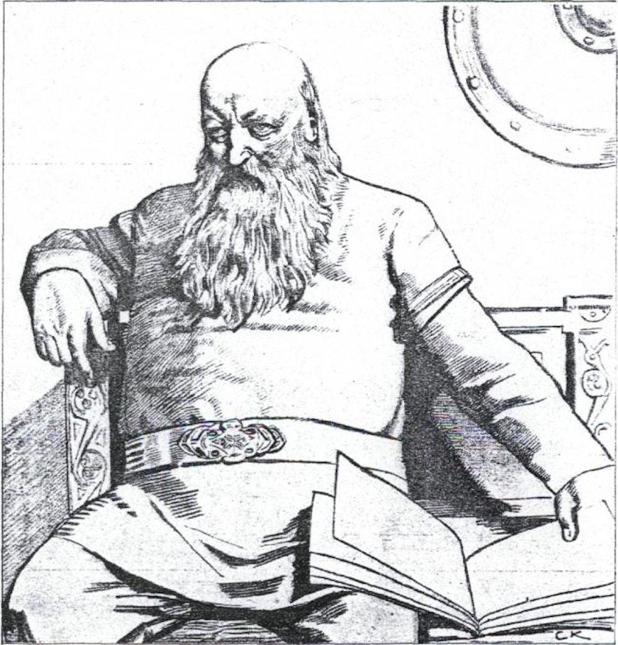 冰岛中世纪文豪斯诺里·斯图鲁松