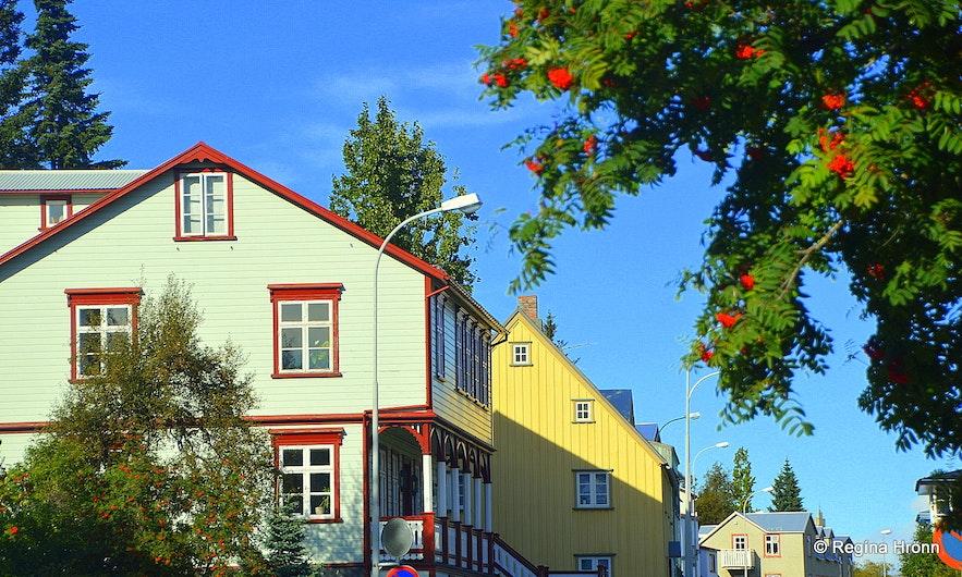 Akureyri town North-Iceland