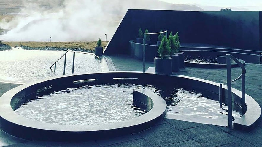 アイスランド西部に新しくオープンしたクロイマ・スパ