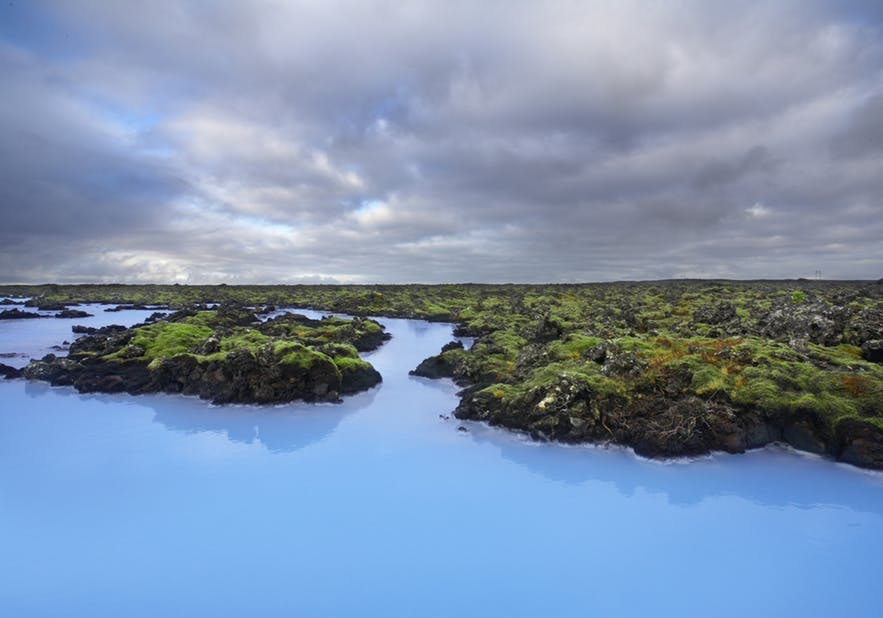 The Blue Lagoon has incredible, azure waters, found in south-east Iceland.