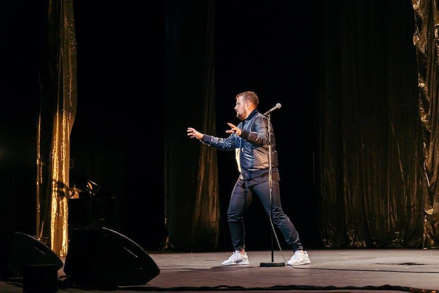 Icelandic comedian Halldór 'Dóri DNA' Halldórsson