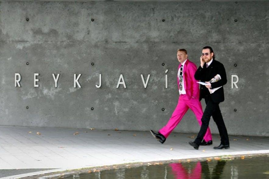 Jón Gnarr became the Mayor of Reykjavík