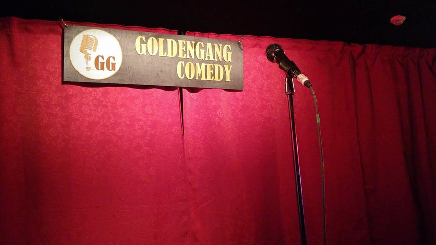 Come talk funny was started by Golden Gang Comedy