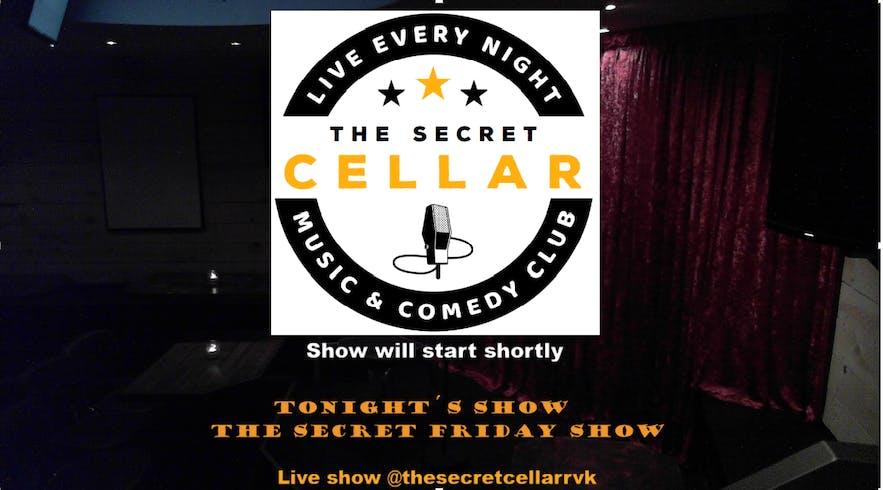 The Secret Cellar sometimes livestreams their shows through their facebook page