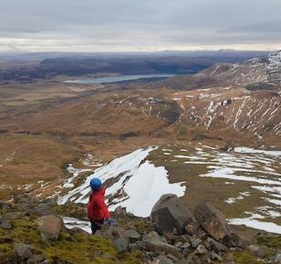 Rock Climbing Adventure Close to Reykjavik | Mount Skessuhorn