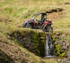 ขับ รถบักกี้ 4x4 ที่ภูเขาเอซยาประเทศไอซ์แลนด์