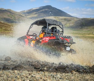 Off-Road Buggy Adventure on Esja Mountain near Reykjavik