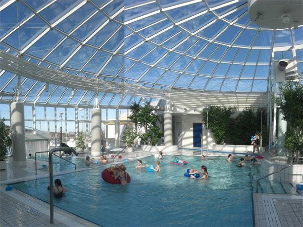 Arbaejarlaug swimming pool in reykjavik