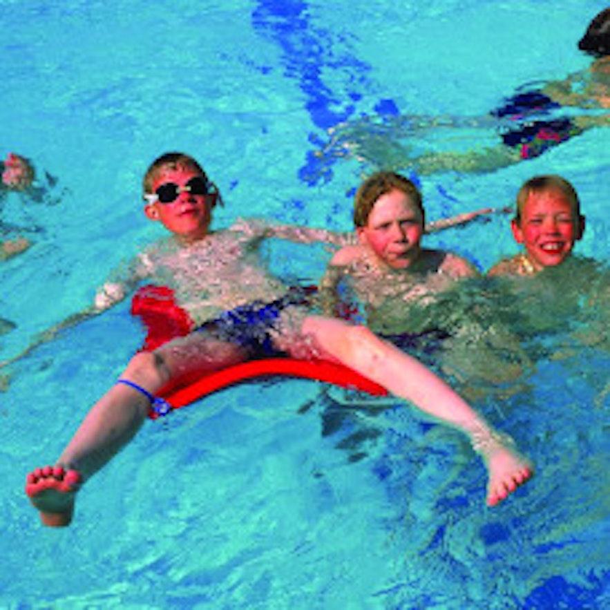 Grafarvogslaug swimming pool in Reykjavik