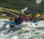 現地発|北アイスランドのラフティングツアー(初心者向け)