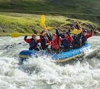 Rafting en famille dans le Nord de l'Islande | Départ de Hafgrimsstadir
