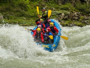 Whitewater Action in North Iceland