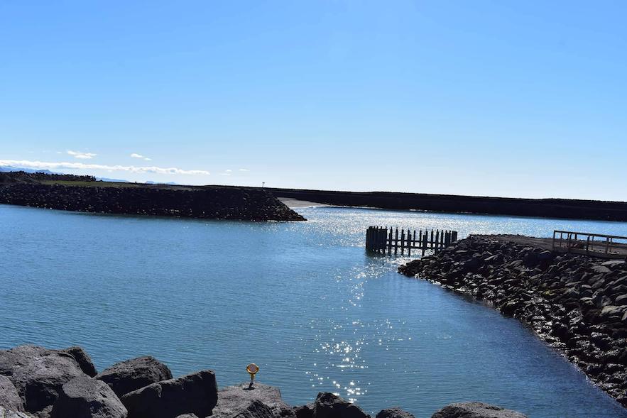 Landeyjahöfn - Hafen im Süden Islands.