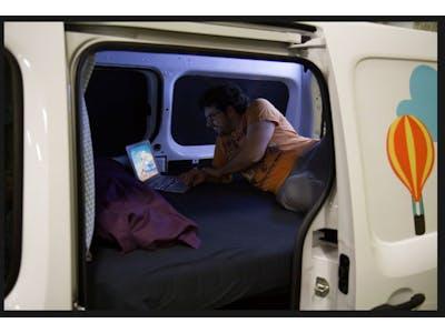 Renault Kangoo Camper  2 persons  2016