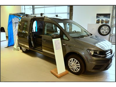 VW Caddy Camper  2 persons  2017