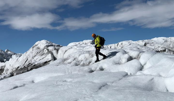 Discover the largest ice cap in Europe on this amazing glacier hike.