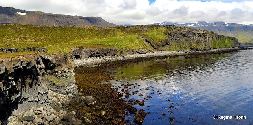 Arnarstapi Sölvahamar- Snæfellsnes West-Iceland