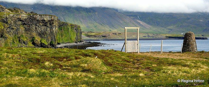 Bárður Snæfellsás - the Mythical Protector of the Snæfellsnes Peninsula in West-Iceland