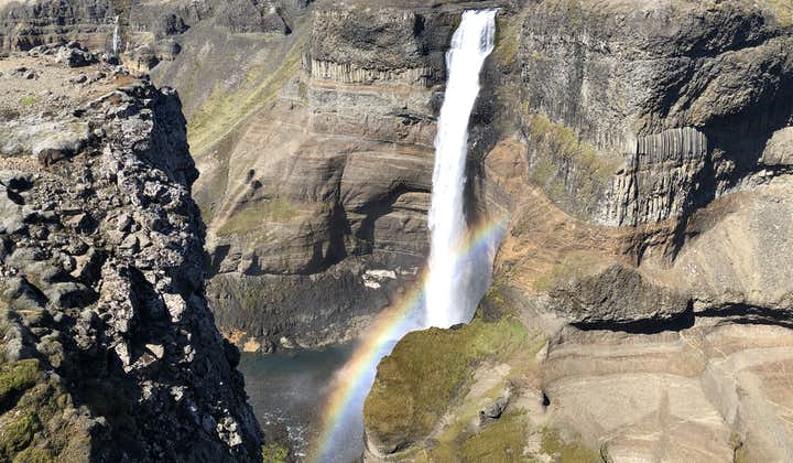 Háifoss is among the tallest waterfalls in Iceland