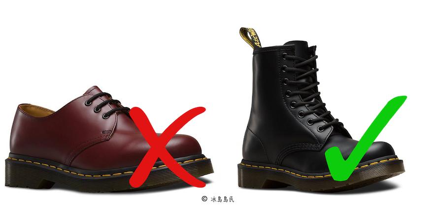 dr martens馬丁靴適合在冰島旅行穿嗎