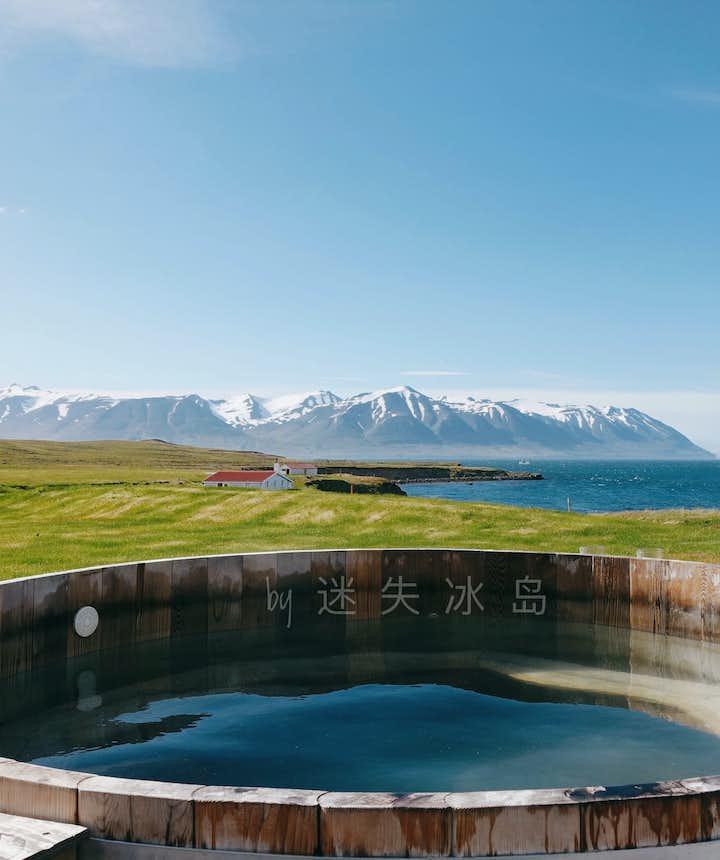 室外温泉,十足冰岛风