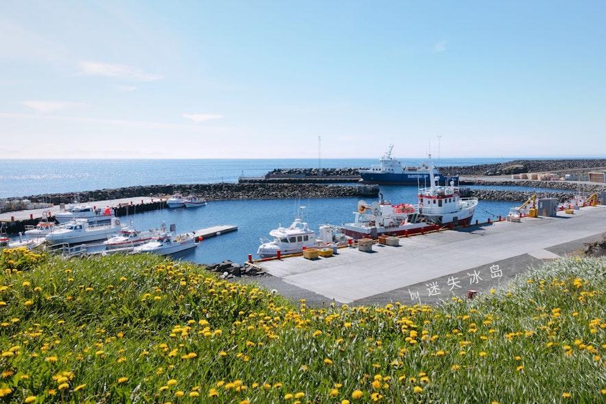 格里姆塞的港口