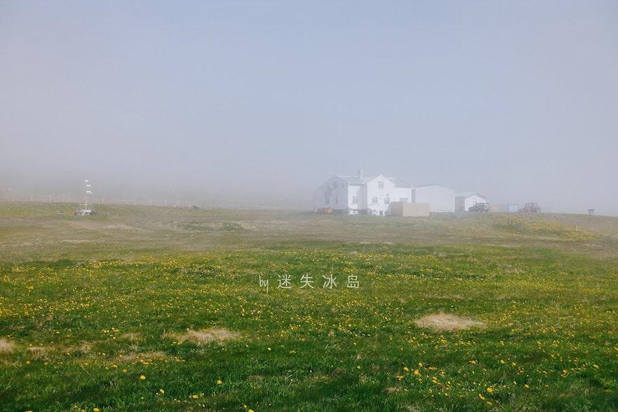 被雾气笼罩的格里姆塞