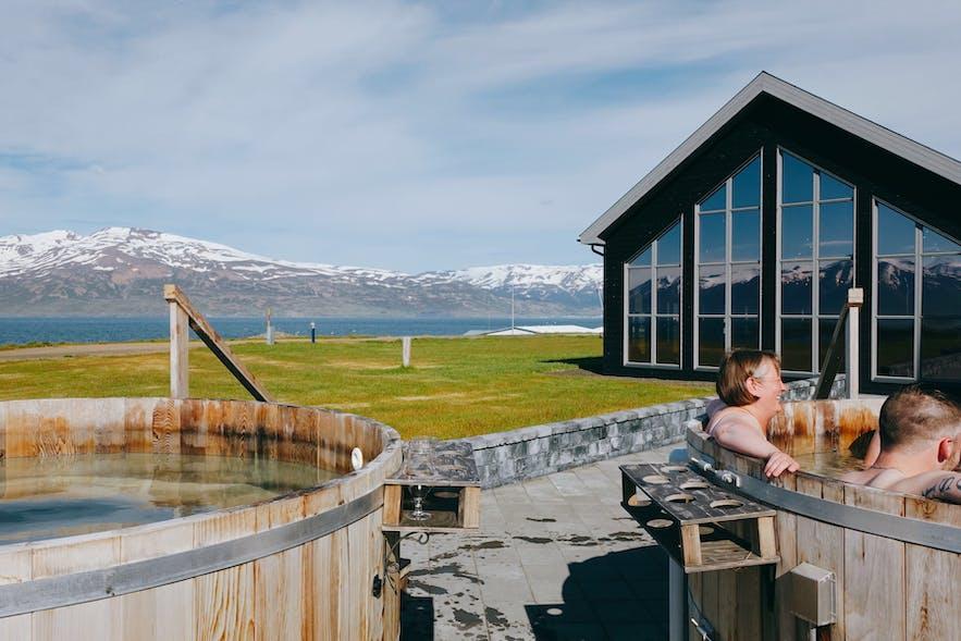 Bjórböðin Beer Spa in North Iceland