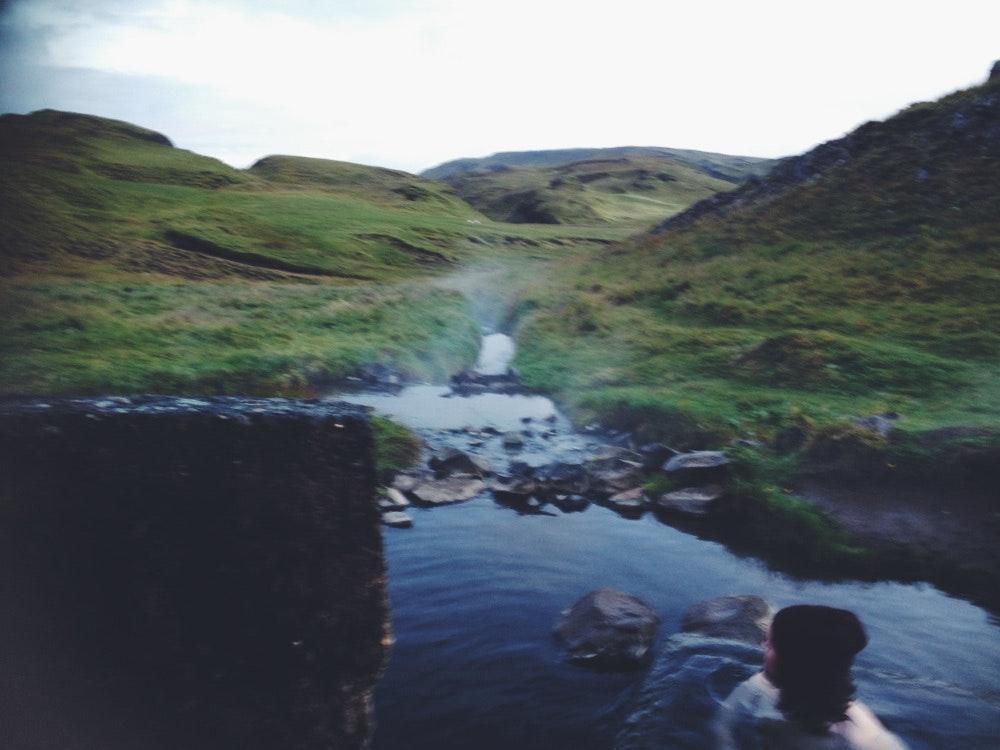 hrunalaug hot spring by Melody Katheleen O'Hearn & Dylan Golden Aycock