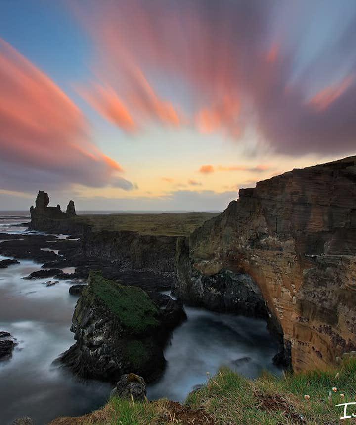 Snaefellsnes peninsula in Iceland