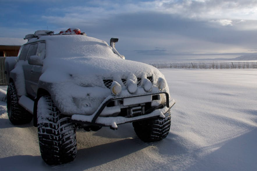 monster truck in iceland