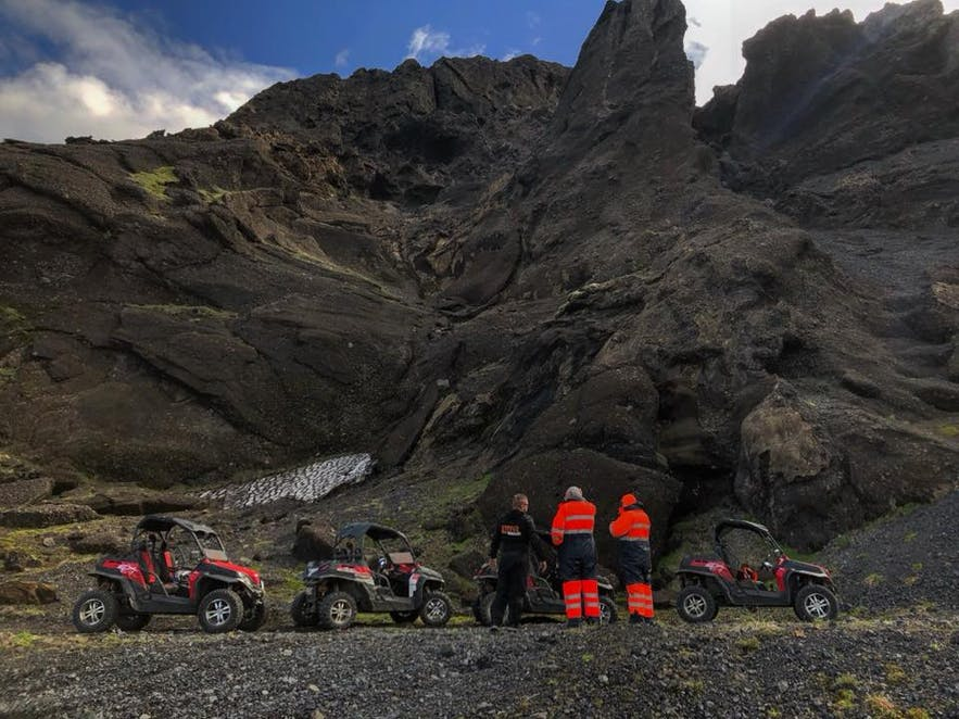 It's possible to have bugg adventures in popular sightseeing destinations such as the Golden Circle and Þorsmörk