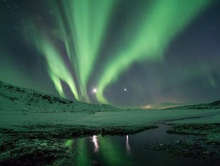 2-hour Northern Lights Buggy Tour in South Iceland