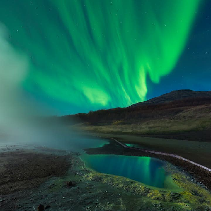 The shorter daylight hours will give you plenty of time to hunt for the Northern Lights