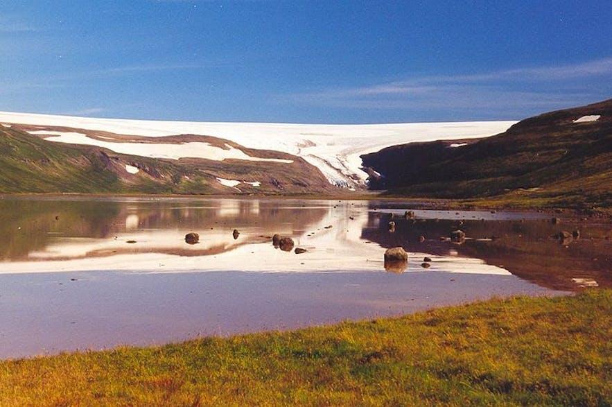 Islandzki lodowiec Drangajökull