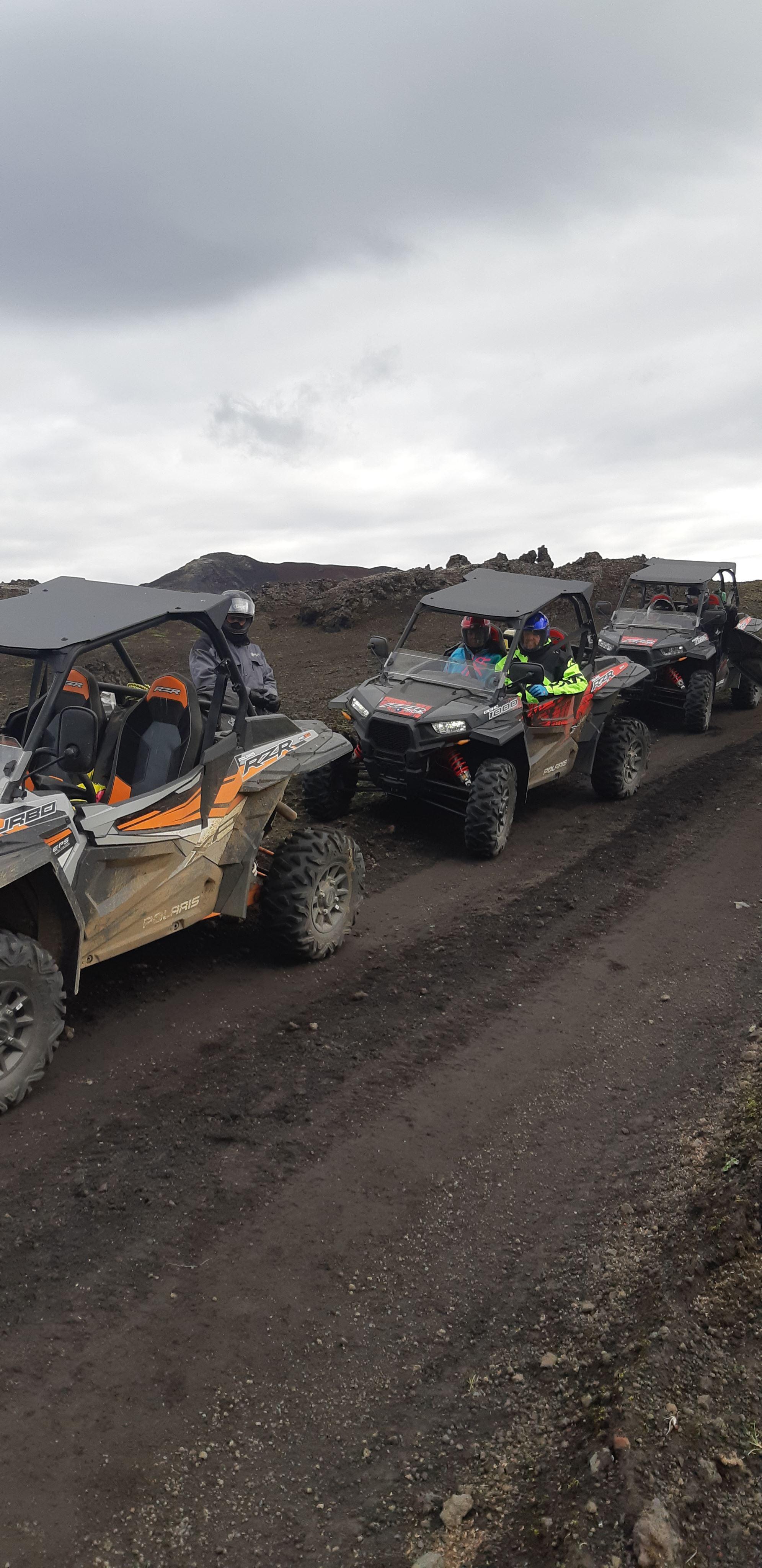 ATV로 여행하는 만큼 재미있는 것도 없을 거예요! 아이슬란드 고산지대 란드만날뢰이가르의 온천으로 떠나요!